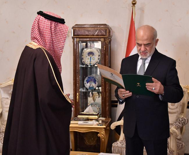 Saudi Arabia's ambassador to Jaafari: the unity of Shiite and Sunni power in Iraq and the region Img56978fb6b7f68