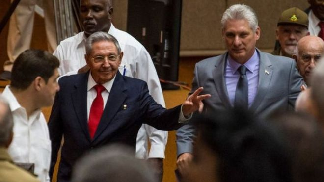 A new president of Cuba ends the Castro era after 60 years of government Img5ad827e6e9a80