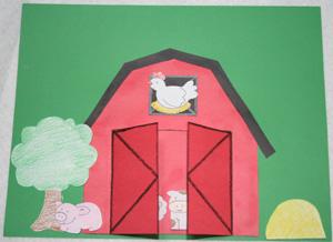 LAVORI CREATIVI : ANIMALI CREATI CON MATERIALI VARI Farm-animals-craft