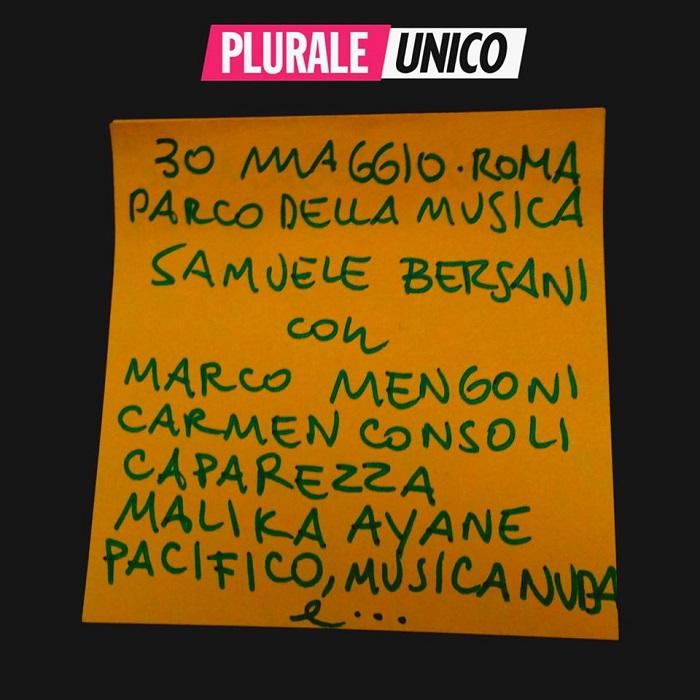 Plurale Unico - Roma - 30/05/2015 - Pagina 6 Samuele-bersani-plurale-unico