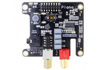 Raspberry Pi + DAC Allo Piano + Reclocker. Piano-dac