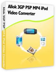 Allok 3GP PSP MP4 iPod Video Converter ( نار يا عيني نار ) 3GP-PSP-MP4-iPod-Video-Converter