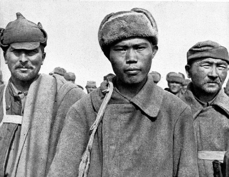 visages de soldats Bessarabia-Ukraine-Crimea-193