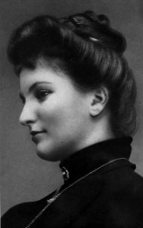 Alma Schindler-Mahler (1879 - 1964) Hist_alma_mein_leben_med