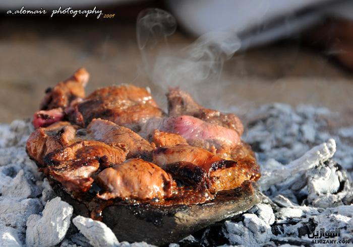 لحم يمام شامي مشوي على الحجر .... Almizany-8e6c51e15f