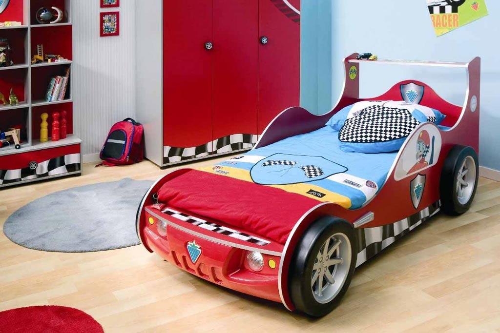 غرف نوم على شكل سيارات للأطفال  Sport-and-race-car-beds-for-kids-bedroom