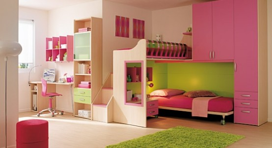 ديكورات غرف بنات Girls-bedroom-theme-5