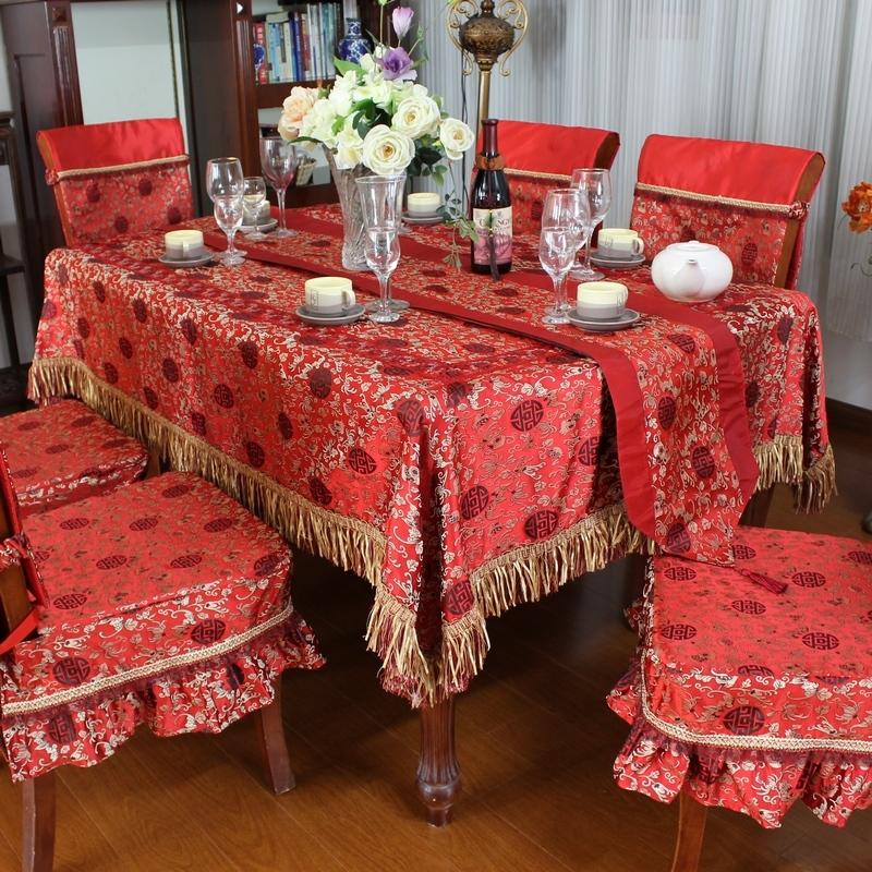 مفارش طاولات سفرة Bamboo-woven-font-b-damask-b-font-table-cloth-font-b-tablecloth-b-font-dining-table