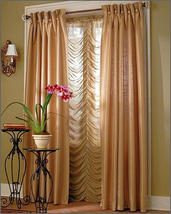 ♥ ستائر لغرف الجلوس ♥ Beautiful-window-curtains-blinds