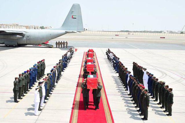 أسماء الشهداء الإماراتيين في اليمن شهداء الامارات ال ٥٢ في مأرب اسماء الشهداء الإماراتيين في اليمن شهداء الامارات ال ٥٢ في  Bodies-of-the-martyrs