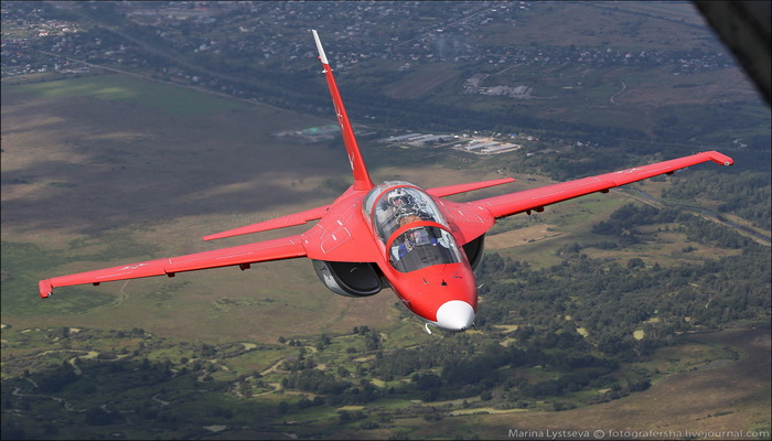 """مفاوضات مصرية روسية لتزويد القوات الجوية المصرية بطائرات تدريب حربية مطورة طراز """"Yak-130 0000078"""