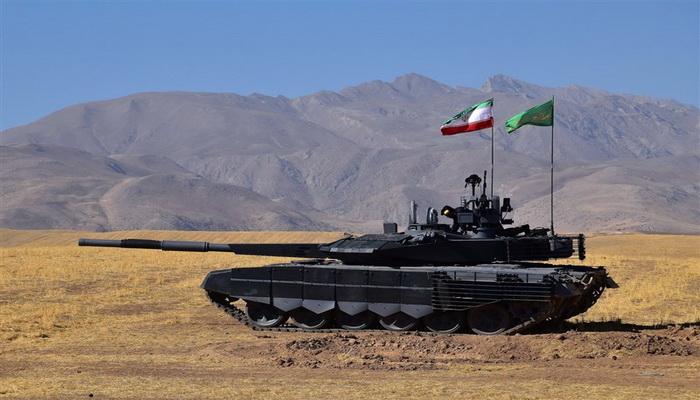 """استكمال الاستعدادات لتسليم دبابة """"كرار"""" الى وحدات القوات المسلحة الايرانية. 0000219"""