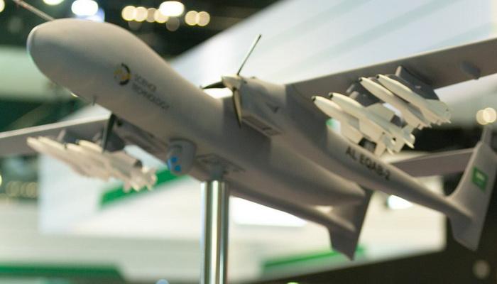 """شركة """"Science Technology"""" السعودية تطلق برنامجا لتطوير قاذفة ثقيلة غير مأهولة. 101114"""