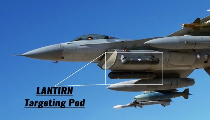 """القوات الجوية المصرية ستحصل على المزيد من حواضن الملاحة والتهديف الامريكية """" لانتيرن LANTIRN """" 126"""