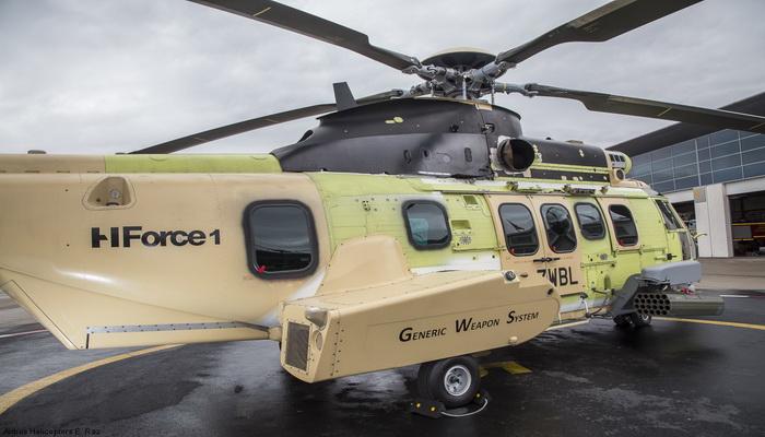 المروحية H145M Airbus  تنفذ رحلتها الأولى مع نظام تسليح HForce بنجاح 062