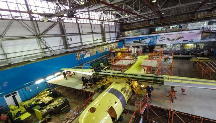 تصنيع ثاني نسخة من طائرة أنتونوف بالكامل في السعودية في 2017 2027