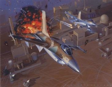 قصة تدمير مفاعلا النووي العراقي: في يوم الأحد 1981/6/7   Vol-21-36b