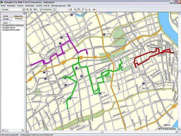 [Pré-TR] - Shanghai et Hong Kong (villes + Disneyland) GPS_All