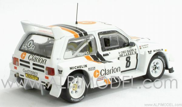 Rally Models plain white Metro 6R4... Rac023-2