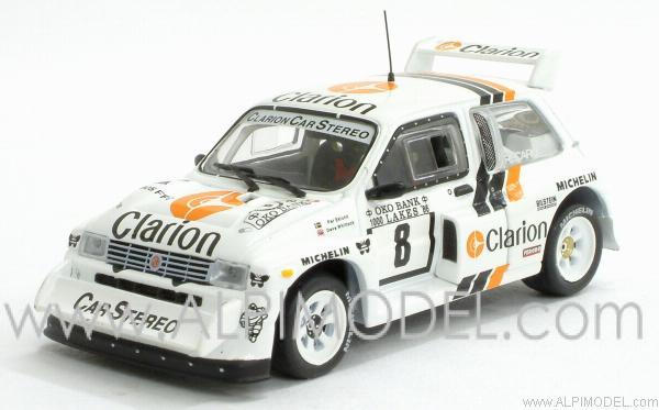 Rally Models plain white Metro 6R4... Rac023