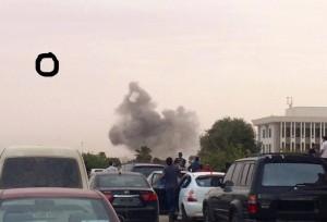 قصف جوي على أهداف في مدينة بنغازي 018-300x204