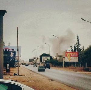 قصف جوي على أهداف في مدينة بنغازي 023-300x297