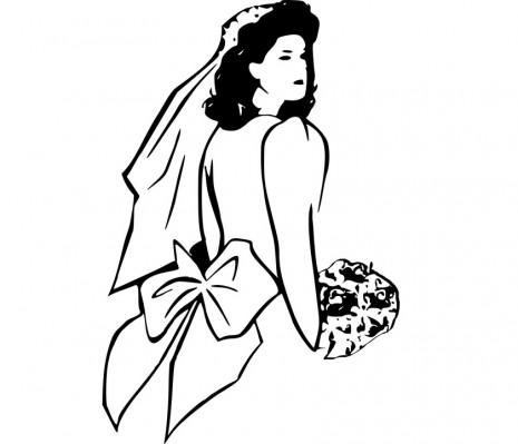 تفسير حلم ارتداء فستان الزفاف Wear-a-wedding-dress-dream-465x399