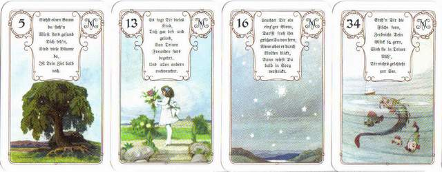 versions - Les différentes versions des  cartes Lenormand Lenormand-1