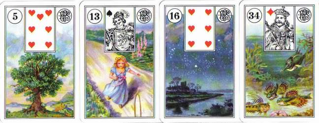 versions - Les différentes versions des  cartes Lenormand Lenormand-2