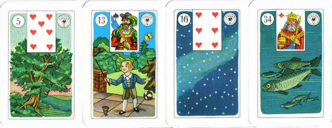 versions - Les différentes versions des  cartes Lenormand Lenormand-3
