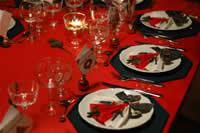 come apparecchiare la tavola x il pranzo di Natale 16131