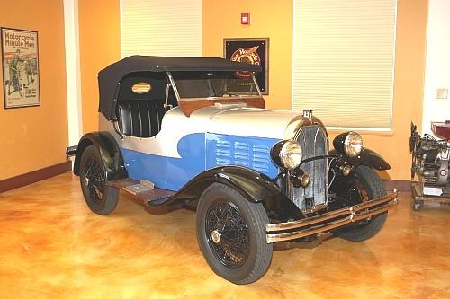 Qu'est-ce qui, en 1928/29 avait quatre roues, un bicylindres en V ou 4 en ligne... Indian-1929