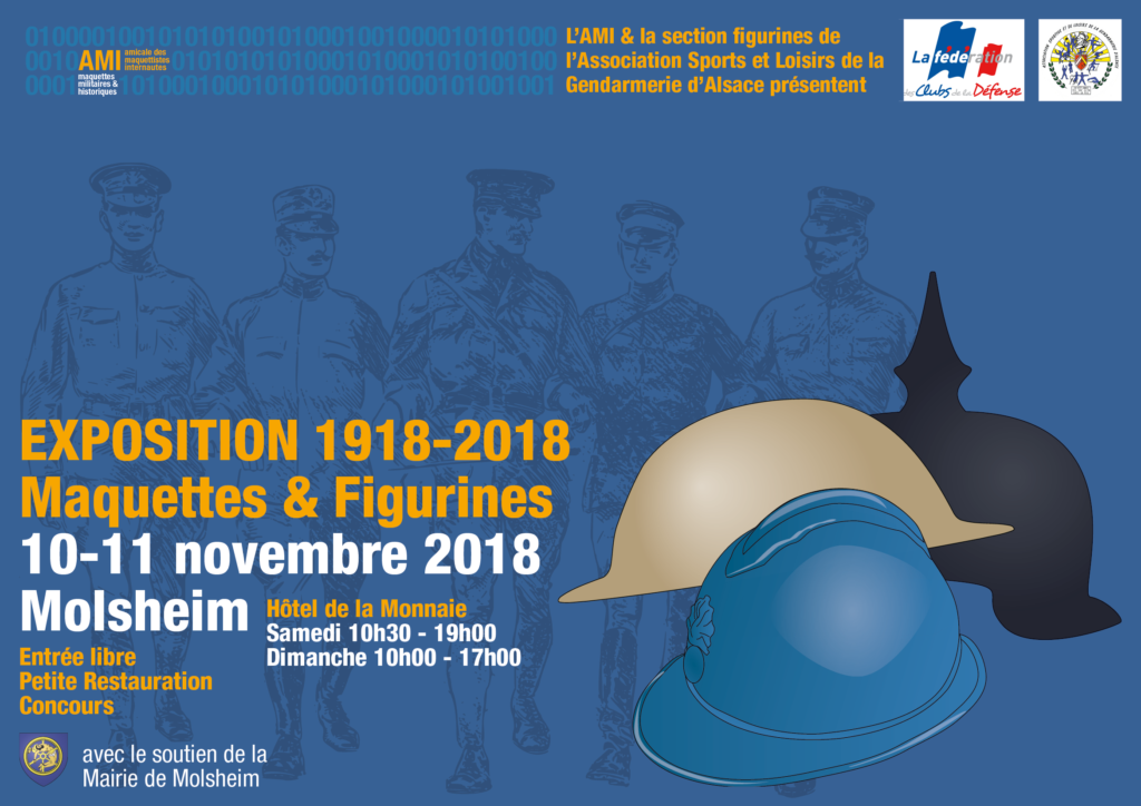 EXPO DE L' A.M.I le 10/11 NOVEMBRE MOLSHEIM (67) EXPO-2018_FR-1024x724