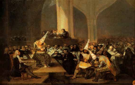 Inquisición española Goya-autodefe2