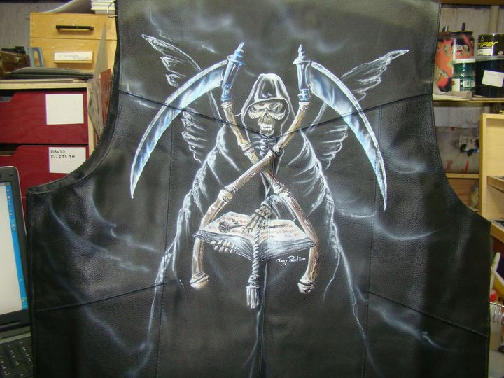 Peinture sur cuir  Cuir%20(14)