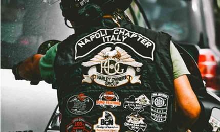 Accessoires de Bikers Patchs-biker-lady-rider-custom-country-western-harley