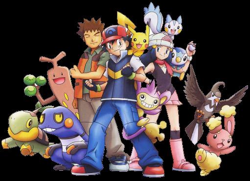 Pokémon : Pocket Monsters Pokemon-diamond-and-pearl-group