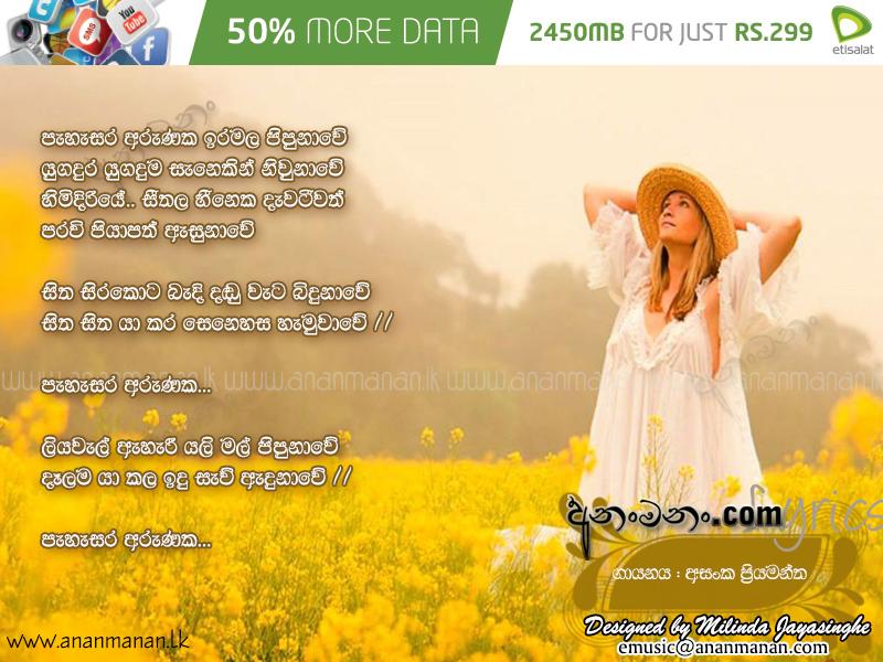 BFL Should Adjust to 250 Immediately  Pahasara_Arunaka_Asanka_Priyamantha