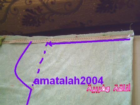 فصالة القفطان المغربي بأسهل الطرق Anaqamaghribiab390e98ca0