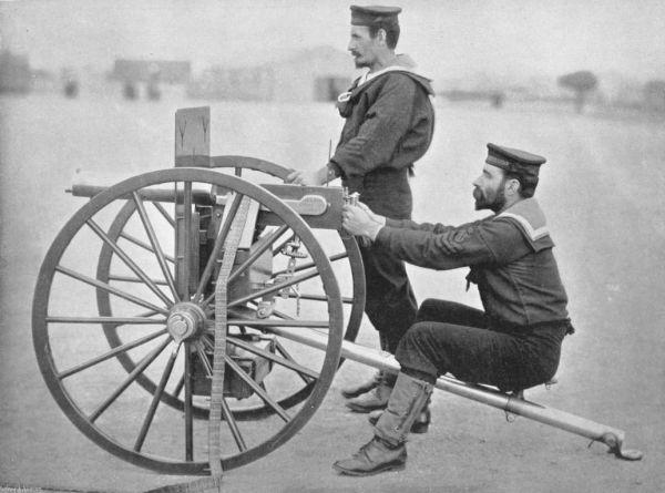 Armas de la 1ra guerra mundial Maxim