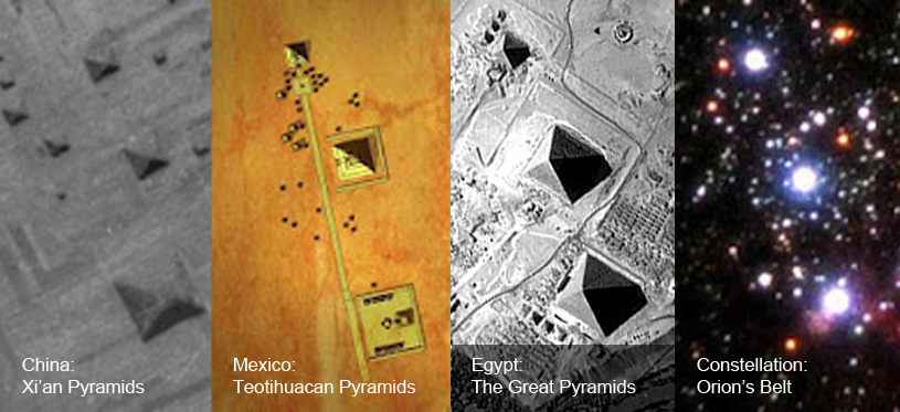 The Orion Correlation: 3 fascinating ancient structures CONNECTED to Orion Pyramids_Orions-Belt