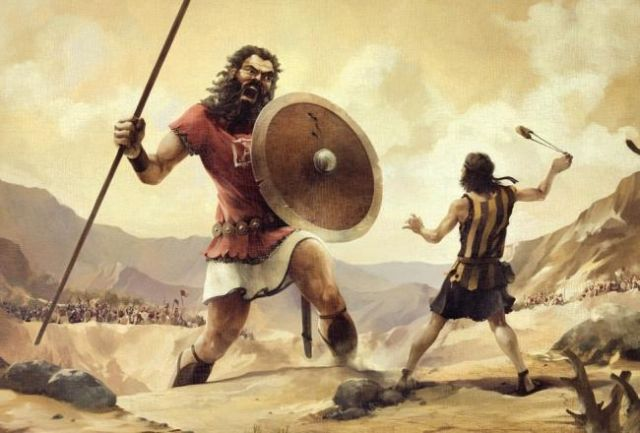The Fallen Angels, The Nephilim by the Book of Enoch David-Vs-Goliath_crop_exact