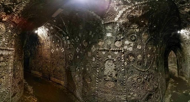 The Shell grotto: Mysteriously Beautiful Desktop-1433533661