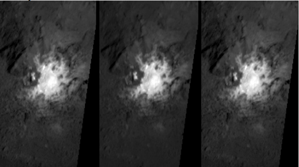 Bright Spots on Ceres could be Portals leading into the planet 1-3