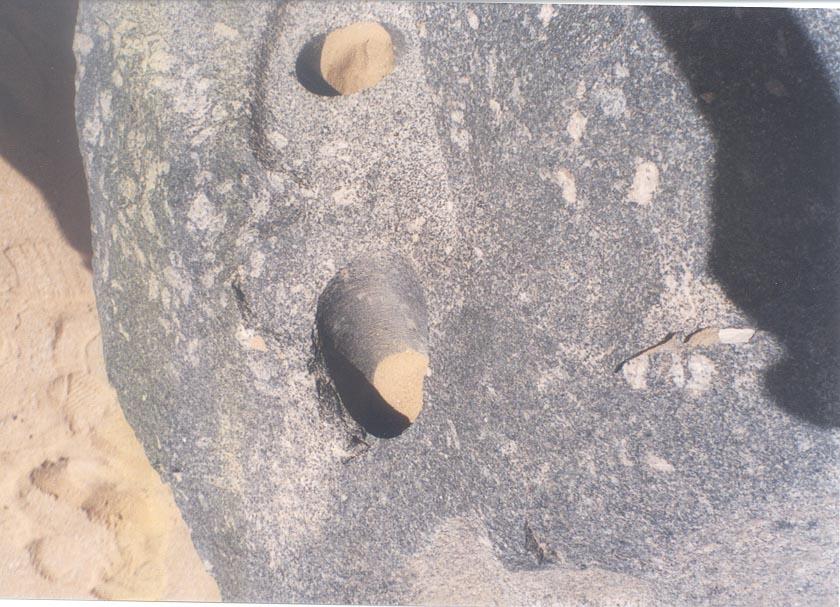 Abusir: Evidence of Advanced Technology in Ancient Egypt Abusir-basalt_hole_1_07
