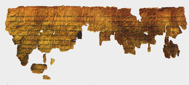 The 2,000-year-old 'Book Of Giants' Describes how the Nephilim were destroyed. Image-of-the-Book-Of-Giants