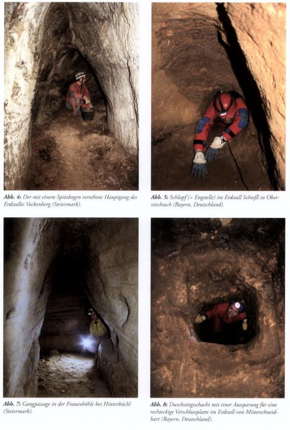 Massive, 12,000-year-old underground tunnels stretch from Scotland to Turkey Tunnels-across-Europe