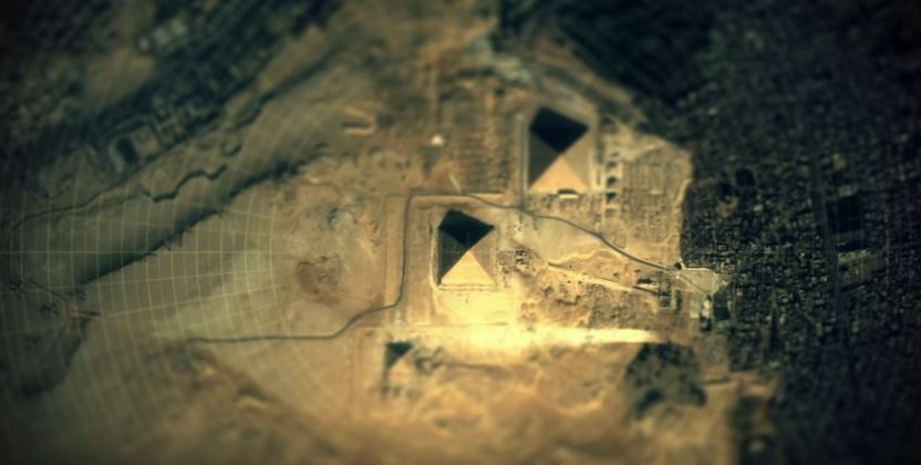 Mind-boggling documentary shows connection between ancient sites and the Stars Pyramdis-Giza