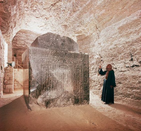 THIS Ancient Egyptian Labyrinth is home to 24 megalithic, highly-polished boxes that weigh 100 tons Serapeum-at-Saqqara