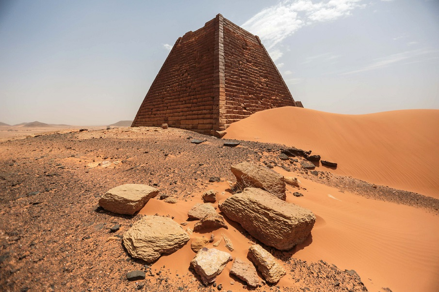 WATCH: Amazing drone footage of the long-lost Nubian PYRAMIDS Sudan-Pyramids-2